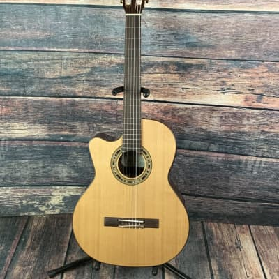 Kremona Left Handed Verea Acoustic Electric Classical Guitar for sale