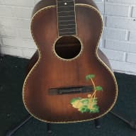 1930's Stromberg Voisinet Kay Parlor Guitar Project Spruce Top Mahogany Back & Sides Birch Neck for sale