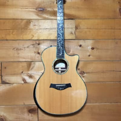 Taylor PS14ce Presentation Series Cocobolo Sitka Spruce Acoustic Electric Guitar
