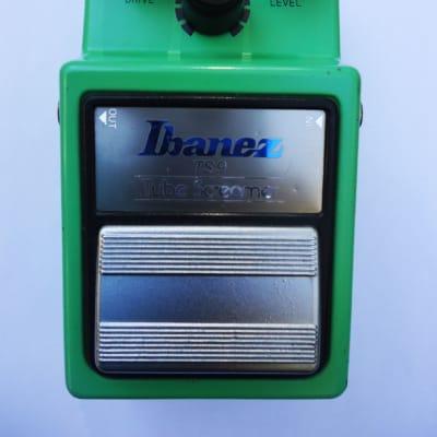 Ibanez TS9 Tube Screamer 1981 Green JRC4558D CHIP for sale