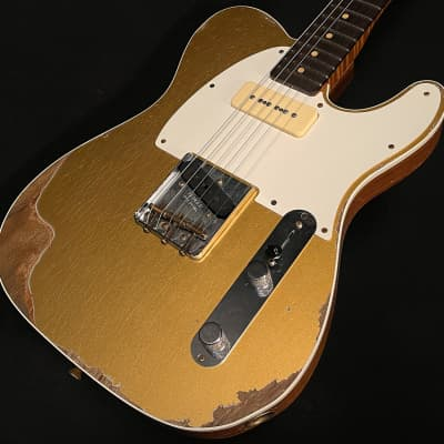Fender Wildwood 10 63 Telecaster Custom 2020 HLE Gold Heavy Relic for sale