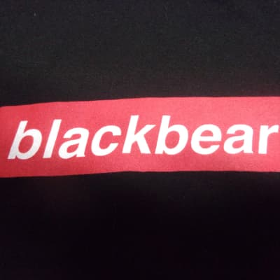RARE Black Bear Concert T Shirt Men's adult Small new old stock band tee black