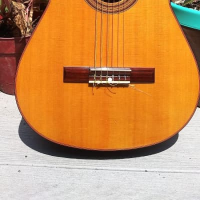 MIJ 1972 Conn C-10 Classical Guitar 1972 Natural Finish for sale