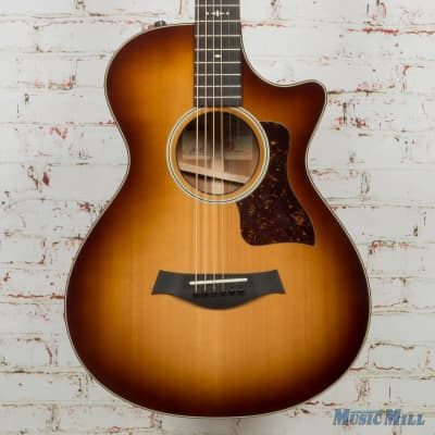 Taylor Limited Edition 512ce 12-Fret LTD Acoustic Electric Guitar Shaded Edgeburst x9058