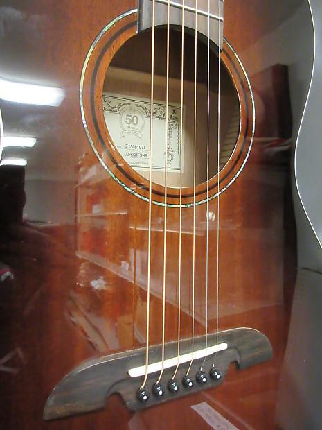 Alvarez Ap660 Acoustic Electric Guitar Reverb