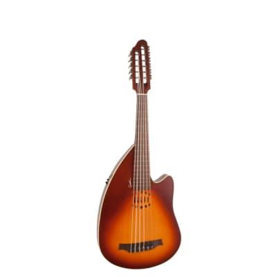 Godin INUK Encore Steel String SG MultiOud Acoustic / Electric Antique Burst Oud Antique Burst
