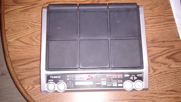 Roland SPD-S 9-Zone Deigital Percussion Sampling Pad 2012-2013 Black &  Silver