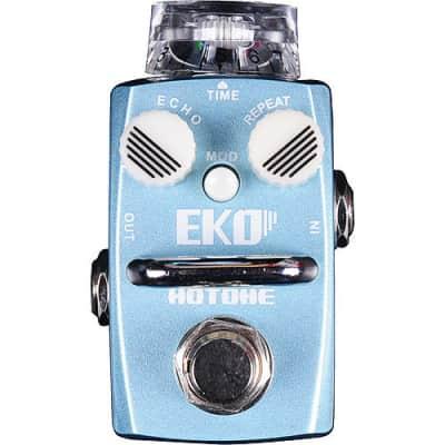 Hotone EKO (Analog Circuit Delay) Guitar Effects Pedal for sale