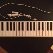 CME Xkey 37-Key Mobile USB Keyboard MIDI Controller image