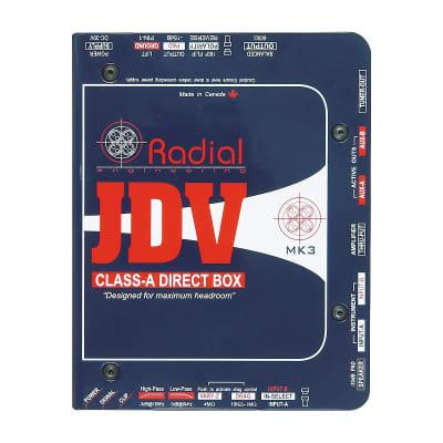 Radial JDV MK3 Super Di - Active Class A Direct Box