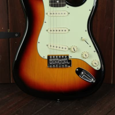 SX Vintage Style Electric Guitar Sunburst with Bag for sale