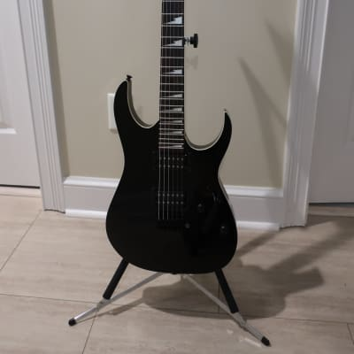 Ibanez GRGR120EX-BKN Gio 2018 - 2019 Black Night, Includes New TKL Gig Bag and Clip on Tuner