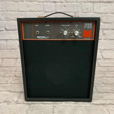 Multivox Premier P25 Solid State Guitar Amplifier for sale
