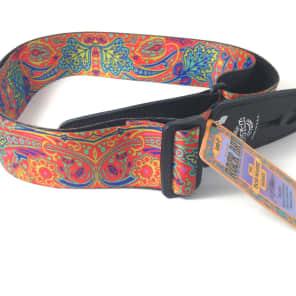 LOCK-IT Guitar Strap Bob Masse Series - Summer of Love Patented Strap Locking …