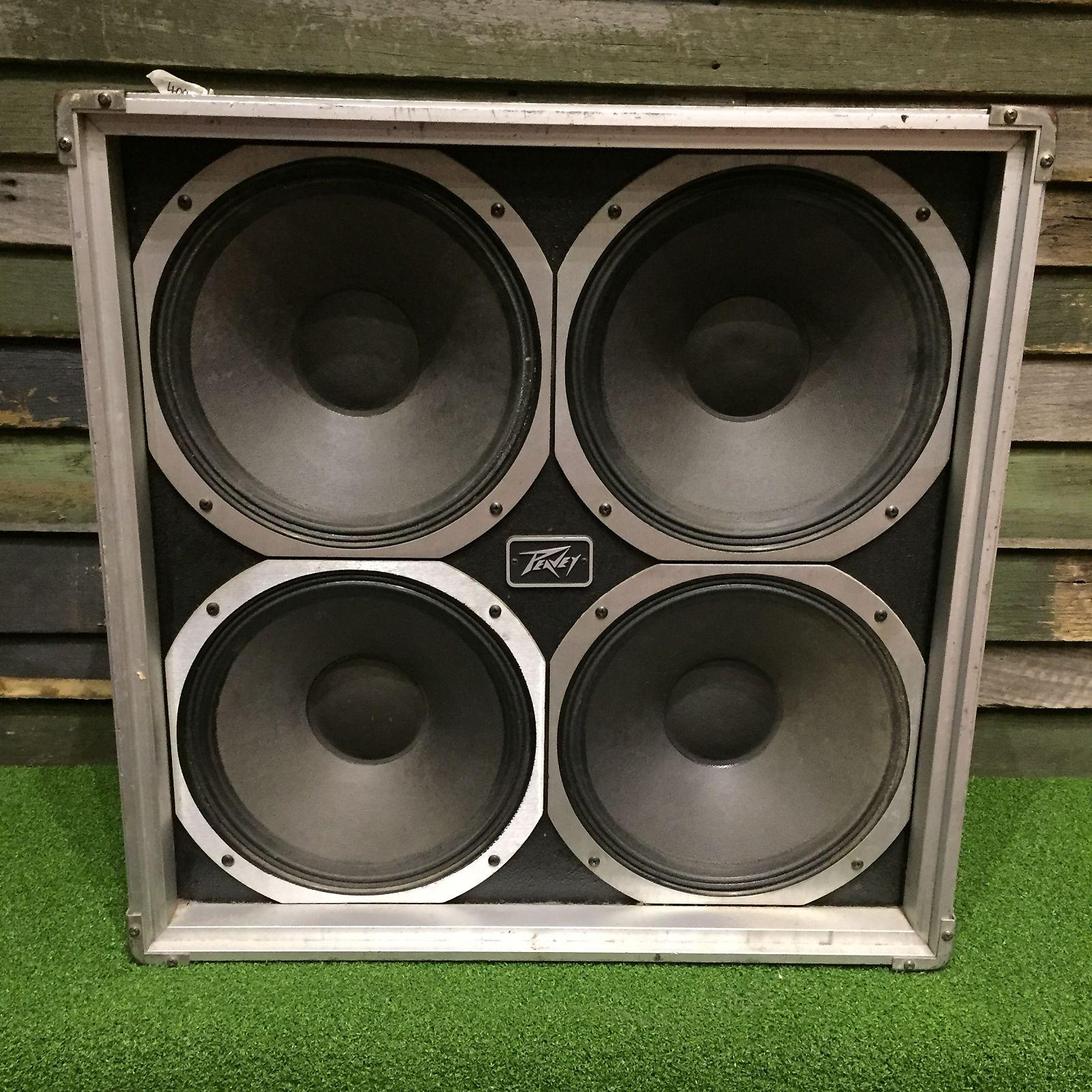Peavey 412fc Flight Case 4x12 Guitar Speaker Cabinet Reverb