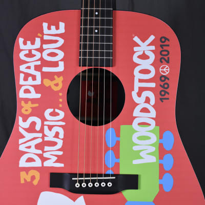 Martin DX Woodstock 50th Anniversary HPL Dreadnought