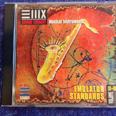 E-MU Systems EIIIX Sound Library Musical Instruments • Emulator Standards CD-ROM Vol. 1