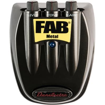 Danelectro D-3 Fab Metal Gitarren-Effektpedal for sale