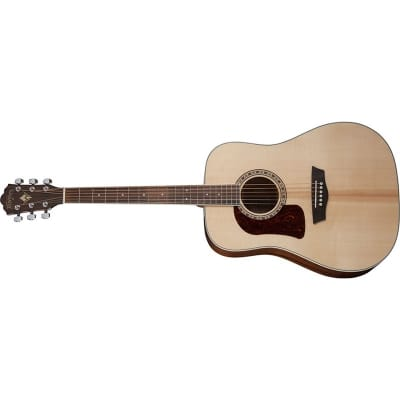 Washburn D10S Heritage Dreadnought Acoustic, Natural, Left Handed for sale