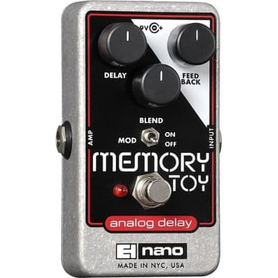 Electro-Harmonix Memory Toy Analog Delay with Modulation Pedal for sale