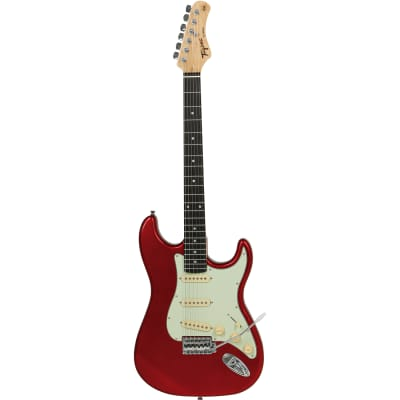 Tagima TG-500 Guitar, Basswood Body w/ Maple Neck, Candy Apple for sale