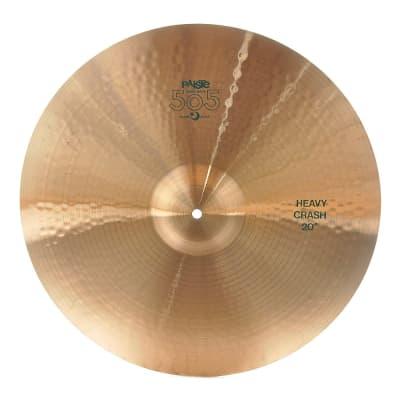 "Paiste 20"" 505 ""Green Label"" Heavy Crash Cymbal"