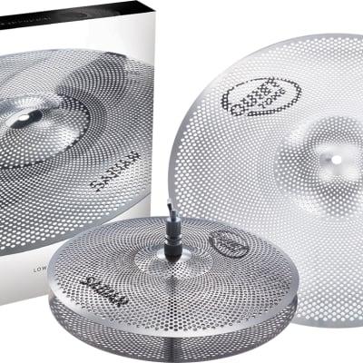 SABIAN Quiet Tone Practice Cymbals Set Qtpc501 Cymbal QTPC501