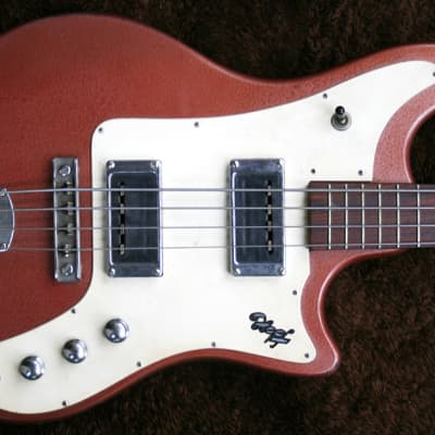 Extremely Rare Vintage 1960s Hopf  Twisty Electric Bass Made In Germany for sale