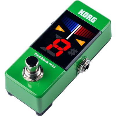 Korg PB-MINI-GR Pitchblack Mini Green Stage Tuner (Green) for sale