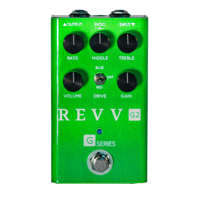 [FREE Intl Shipping] REVV G2 Overdrive Light Distortion Clean Boost