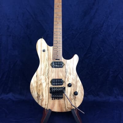 EVH Wolfgang Standard Exotic in Spalted Maple with Baked Maple Fretboard for sale