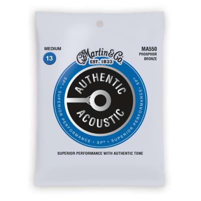 Martin Authentic Acoustic SP Strings, MA550, Medium