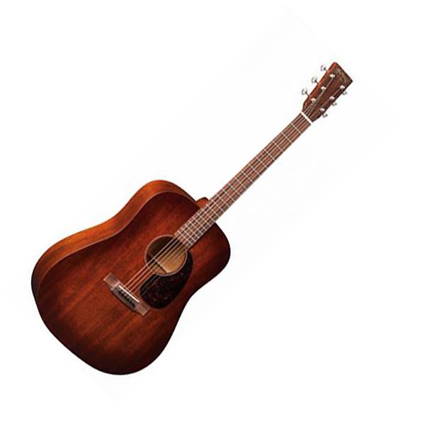 martin d 15m burst 15 series acoustic guitar with case reverb. Black Bedroom Furniture Sets. Home Design Ideas