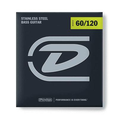 Dunlop DBS60120 Stainless Steel Drop B Bass Strings (60-120)