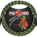 "Lifetime Warranty! Pig Hog PCH10CF Camouflage 1/4"" / 1/4"" Instrument Cable - 10'"