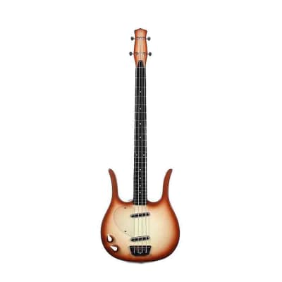 Danelectro Longhorn Bass Lefty Copperburst New, Free Shipping, D58LHBLFT-CPR