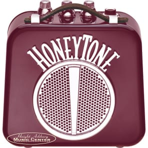 Danelectro Honeytone Mini Guitar Amp Burgundy Finish (N10B) for sale