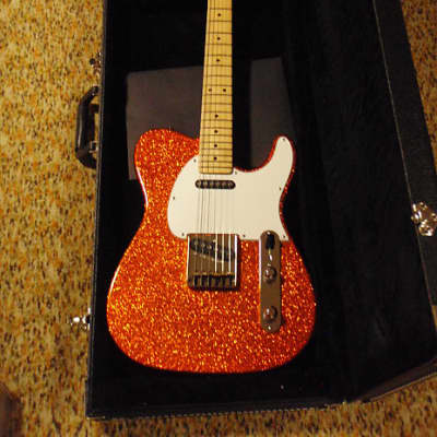 G&L ASAT Classic Orange Metal Flake  8/2016 for sale