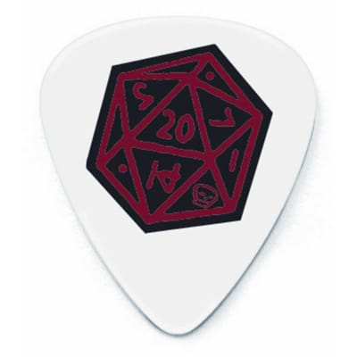 Dunlop BL50R100 Dirty Donny Icosahedron Tortex 1mm Guitar Picks (36-Pack)