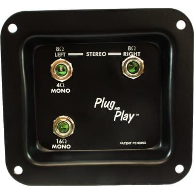 Jack Plate - Plug and Play, Mono/Stereo
