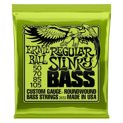 Ernie Ball 2832 Regular Slinky Nickel Wound Electric Bass Strings