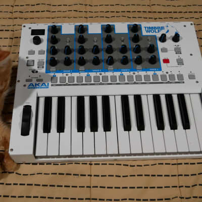 Modified 44 Patch Point Akai Timbre Wolf