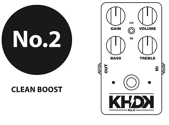 khdk no  2 clean boost