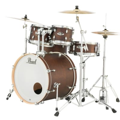 """EXL2218B/C220 Pearl Export Lacquer 22""""x18"""" Bass Drum  SATIN BROWN"""