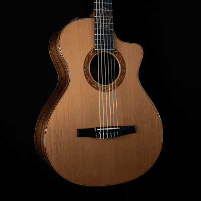 Taylor Jason Mraz Signature Crossover Guitar, Grand Concert, Nylon, Cedar, Rosewood - ON HOLD for sale