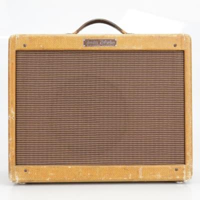 1959 Fender Vibrolux Tweed 1x10 Tube Combo Amp Jensen Special Design #40380