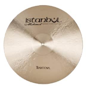 "Istanbul Mehmet 16"" Traditional Series Thin Crash Cymbal"
