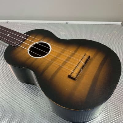 Harmony Soprano Ukulele 1950's Sunburst for sale