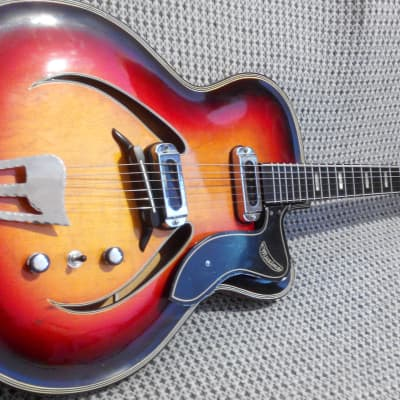 Musima Record 17 1970-s 3 Color Sunburst for sale