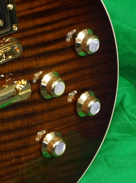 Gibson Les Paul Premium Plus 2017 Tiger Burst Gorgeous